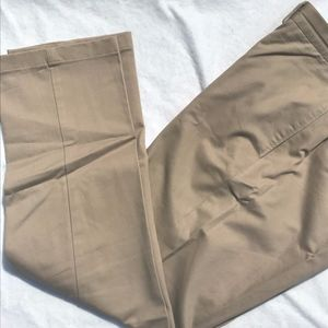 Lands' End Traditional Fit Khakis 36x32